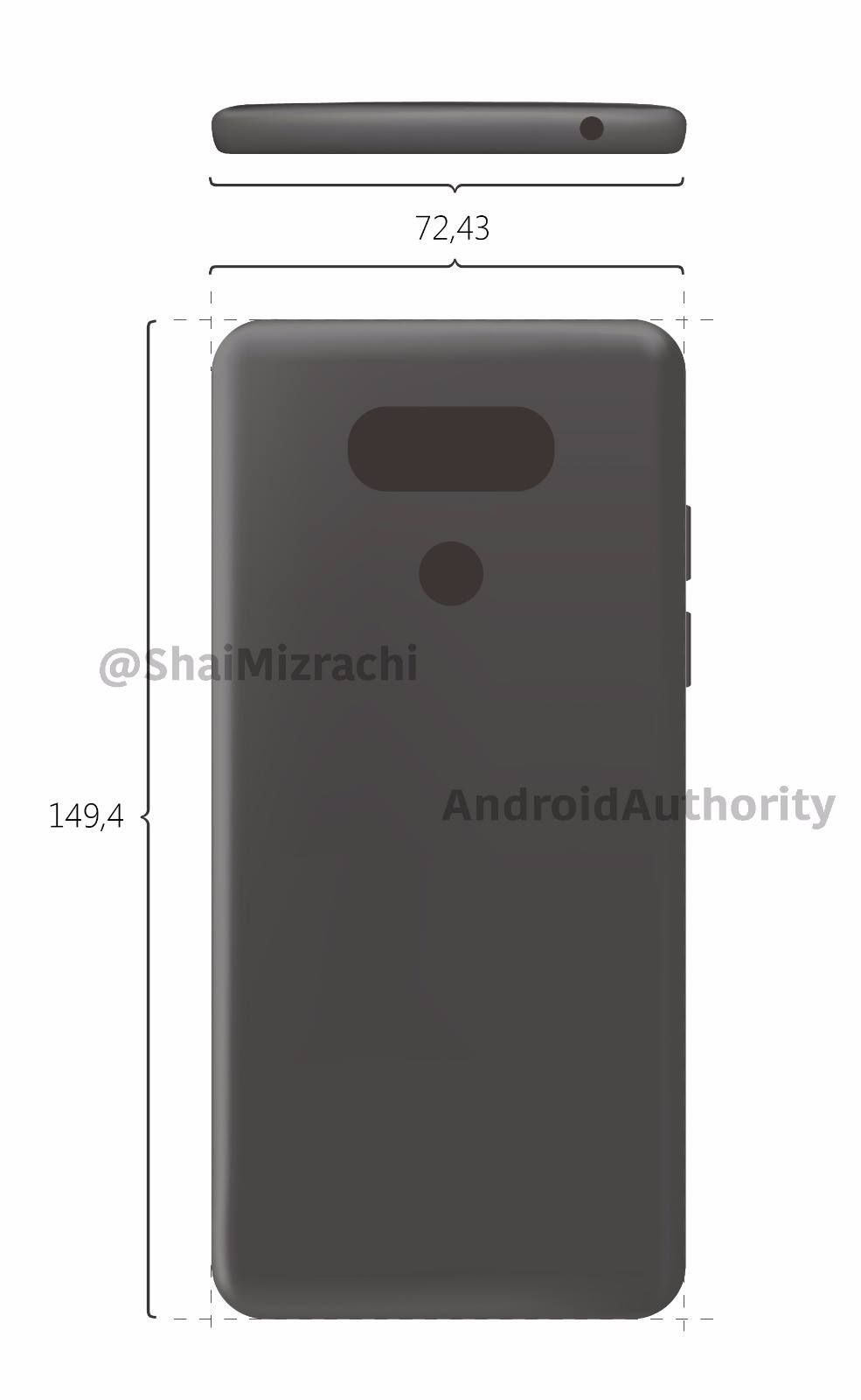 This is LG G6 Render