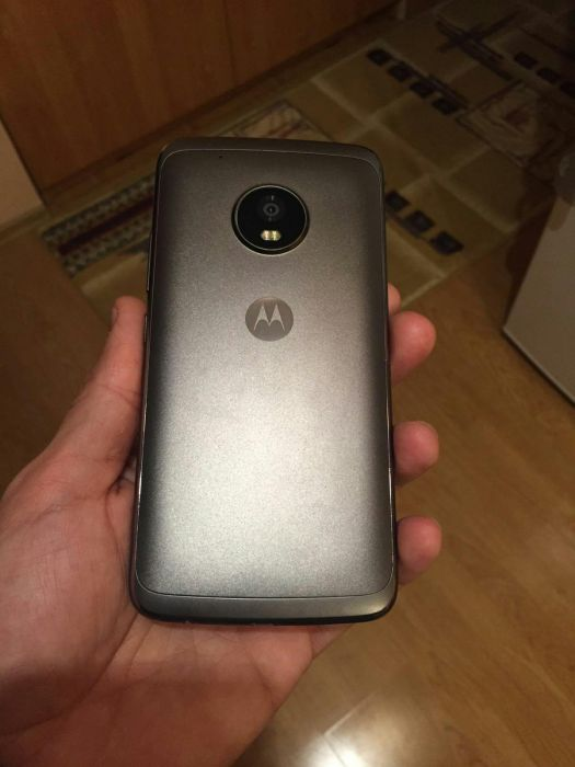 Back of Moto G5 Plus