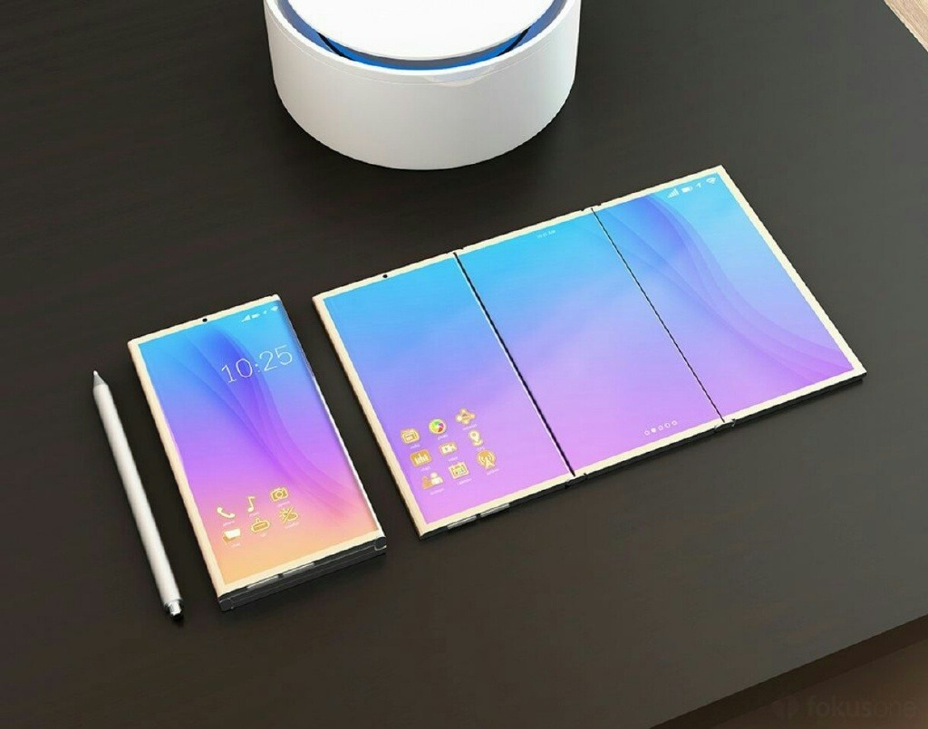 Check Out This Samsung Foldable Smartphone Concept 1