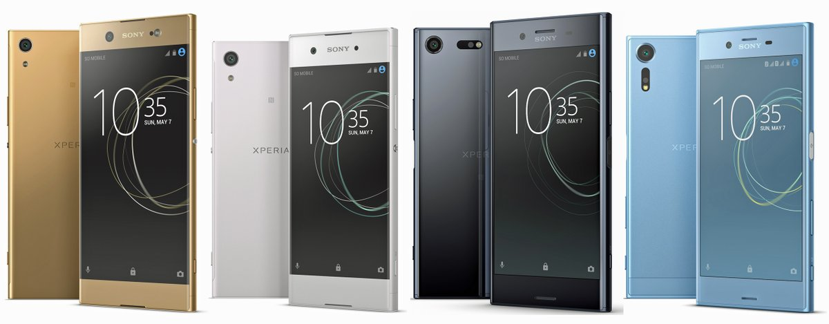 Exclusive: Check Out The Press Shots of Sony Xperia 2017 Phones 1