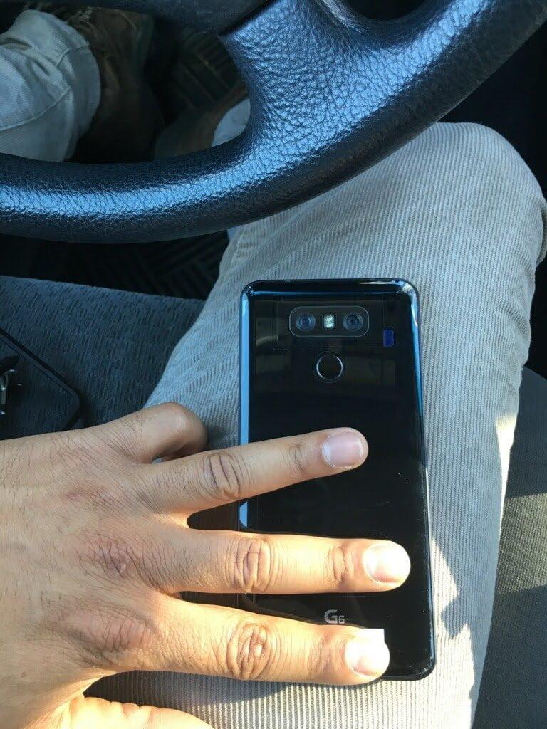 Image of LG G6 back