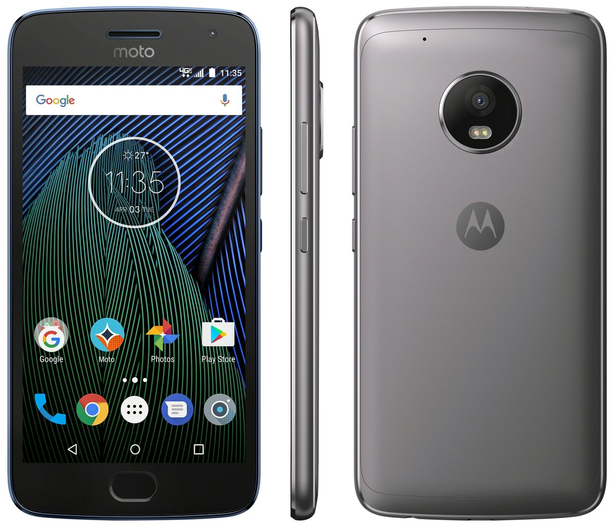 This is Moto G5 Plus For Verizon with No Verizon Logo. Nice?