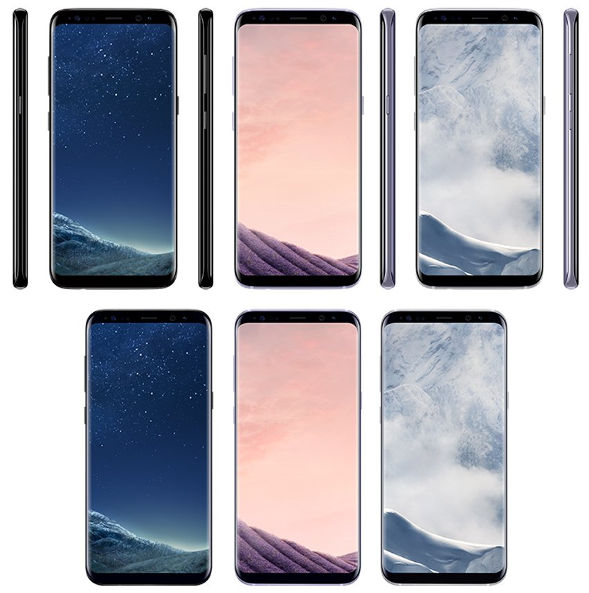 [Update - Gold ] Here is Galaxy S8 in Black Sky, Orchid Grey and Arctic Silver 3