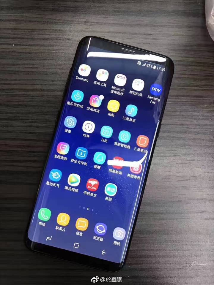 Live Galaxy S8 Hands On