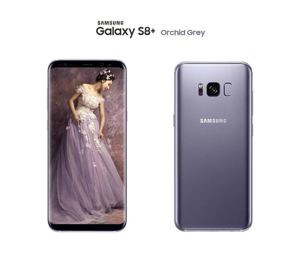 Orchid Grey Galaxy S8 Plus