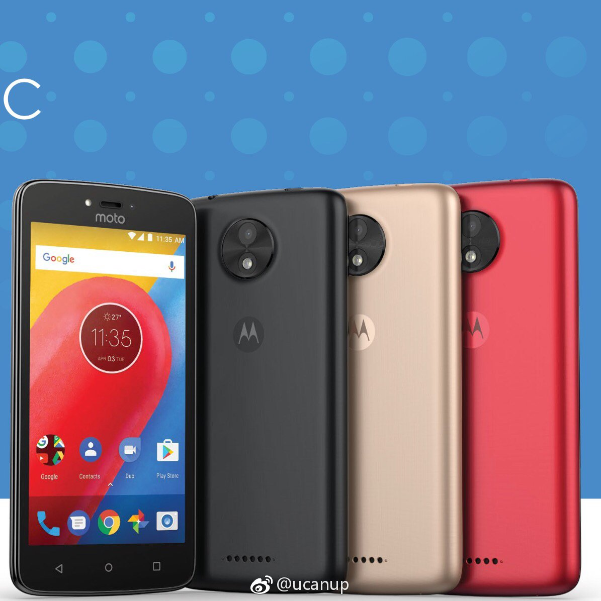 Moto C in Different COLORS