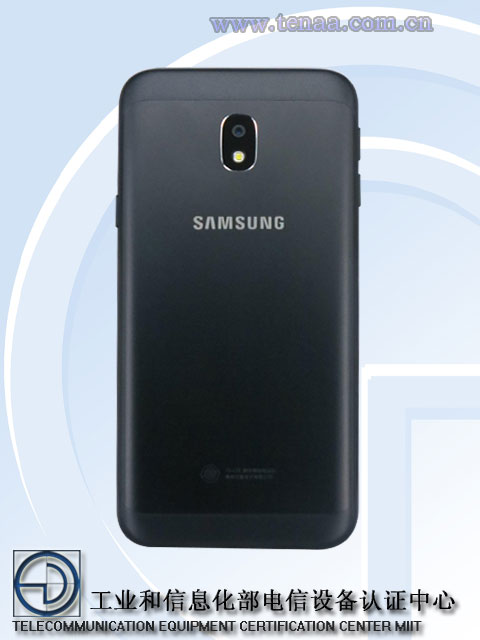 samsung galaxy j3 2017 spotted on tenaa design revealed. Black Bedroom Furniture Sets. Home Design Ideas