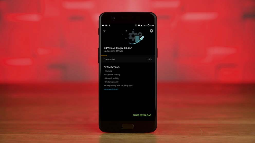 OnePlus 5 First Software Update