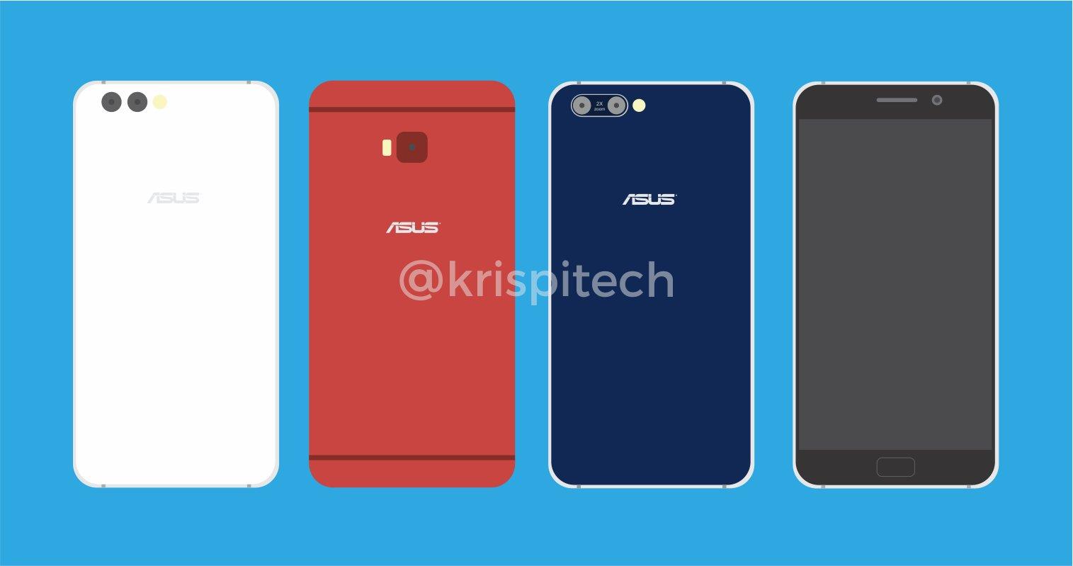 This is the Asus Zenfone 4 Trio + Zenfone 4 Pro Hands-On Shots 1