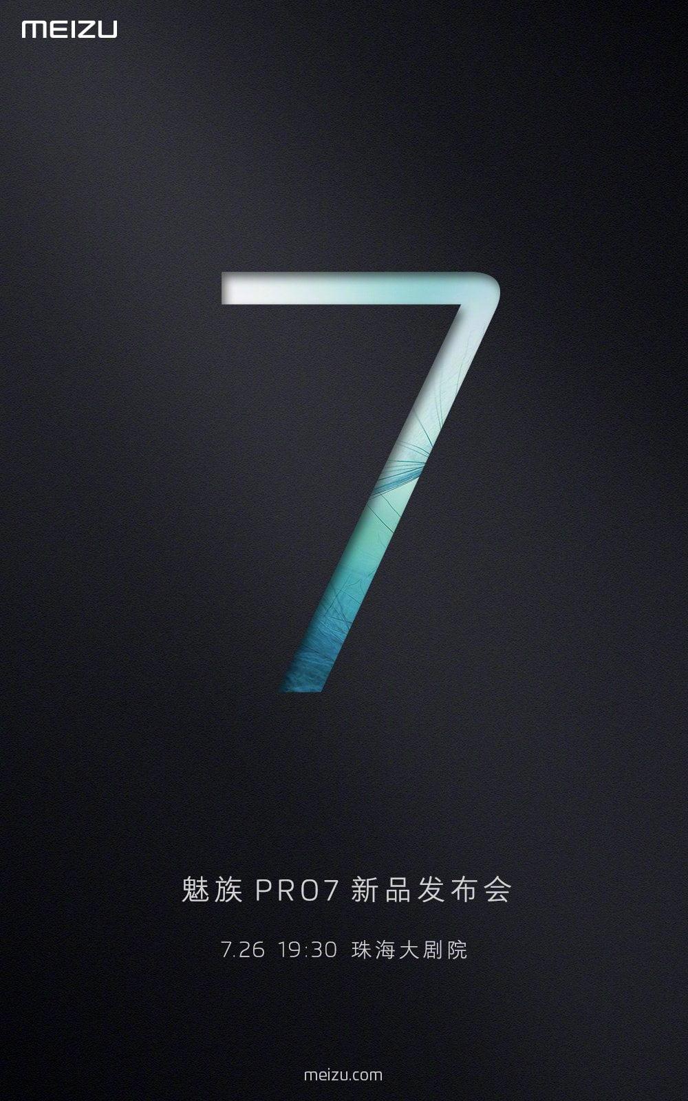 Meizu Pro 7 Teaser