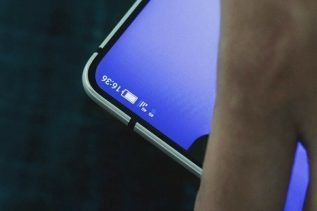 Sharp Bezel-less phone