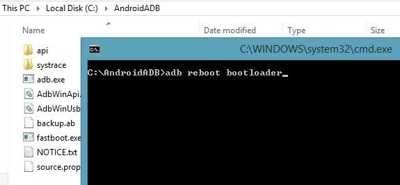 Install TWRP via FastBoot