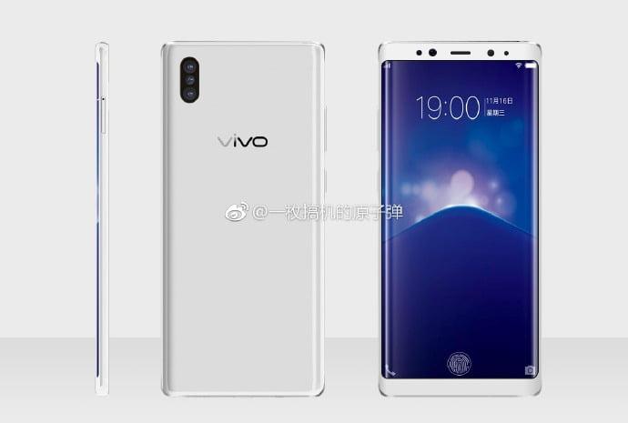 Vivo XPlay 7 Render in White