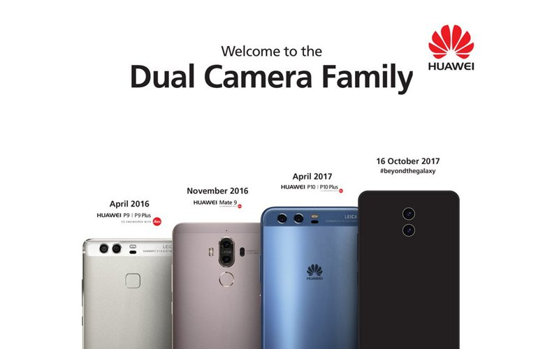 Huawei Mate 10 Official Teasers Reveal the final design & take a subtle dig at Samsung 3