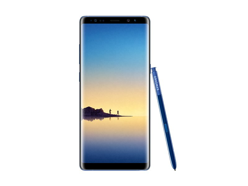 Deep Sea Blue Galaxy Note 8