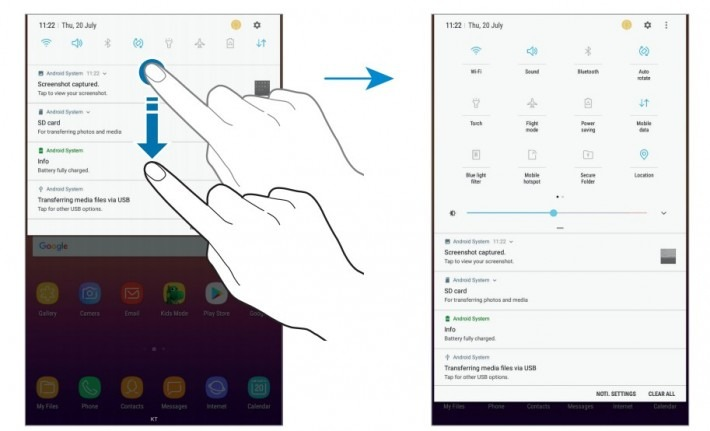 Samsung Galaxy Tab A2 S User Manual shows up on the official site 2