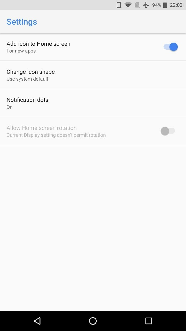 Download Android Oreo's Pixel Launcher 2.X For Non-Rooted Phones 3