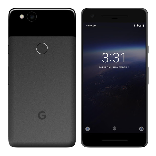 This is the Google Pixel 2017 & there is no bezel-less thing here 1