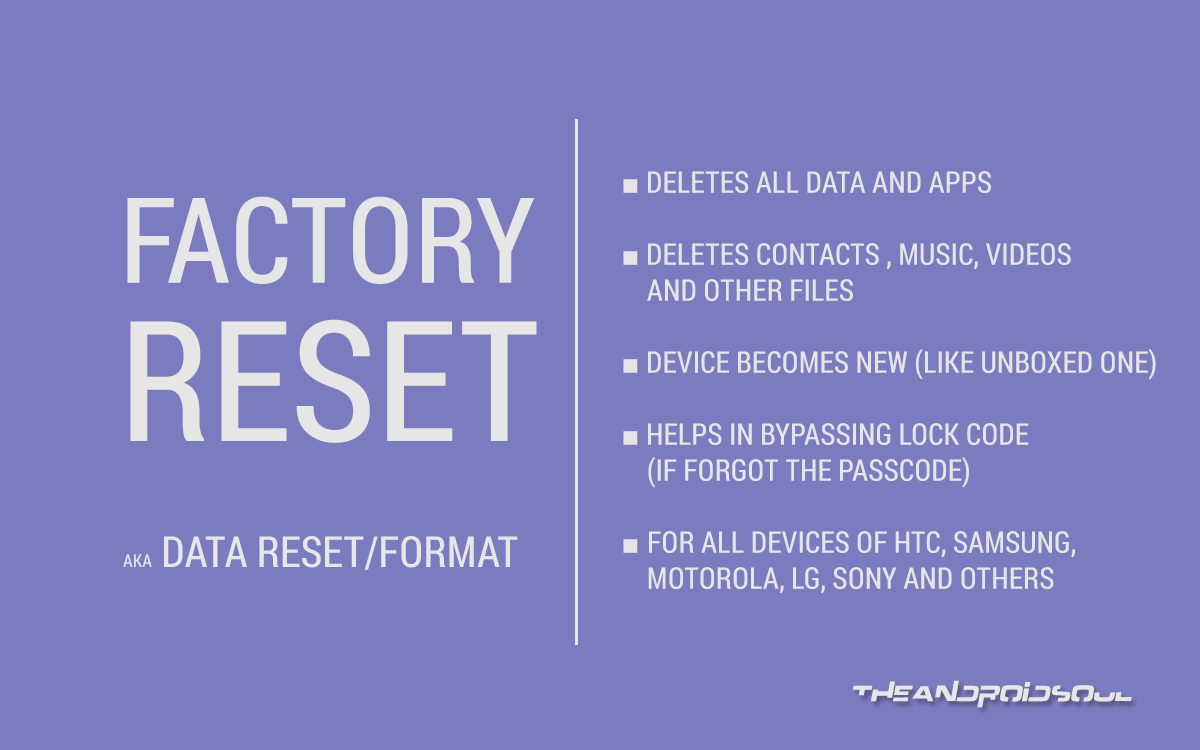 recovery is not seandroid enforcing data reset