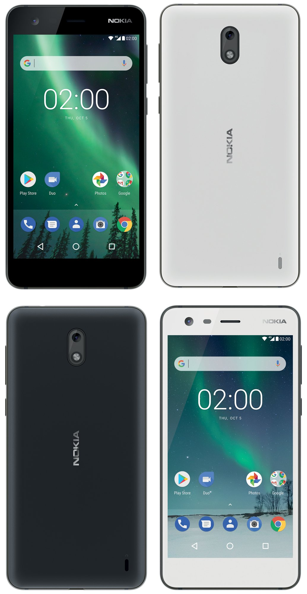 Nokia 2 Press Render