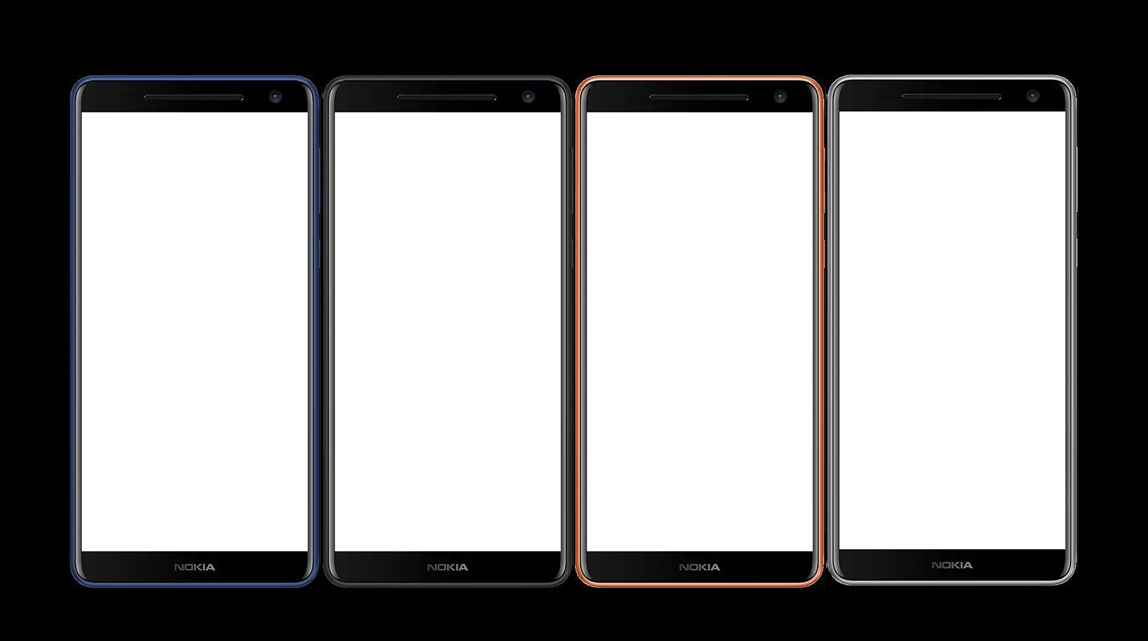 Nokia 9 Renders from front leaked in various colors, 16:9 Display Confirmed 1