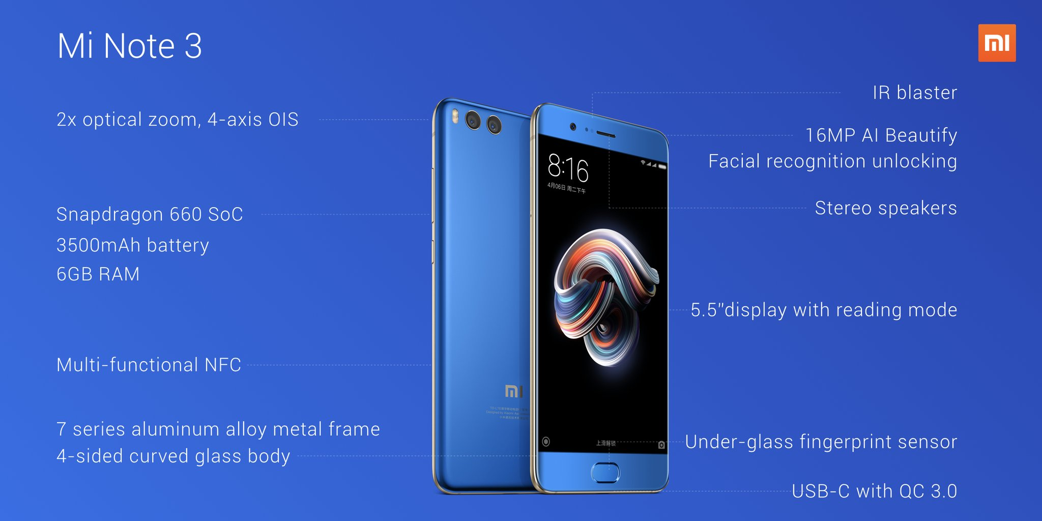 Xiaomi Mi Mix 2 & Mi Note 3 Launched - Here's all you need to know 7