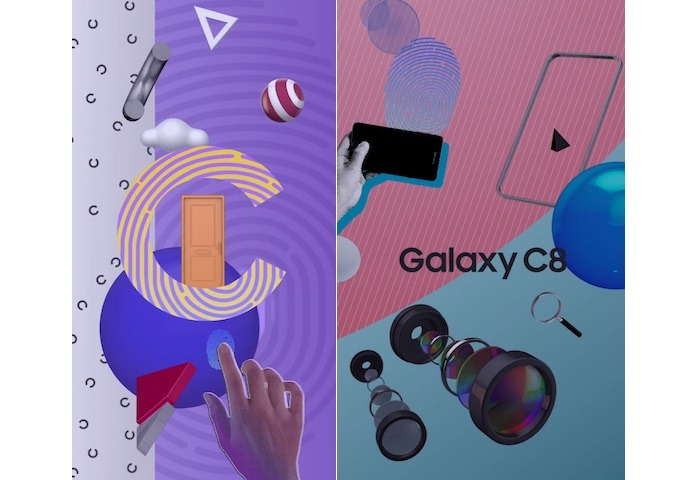 Leaked Promo Material confirms Galaxy C8's Design & Dual Cameras 6