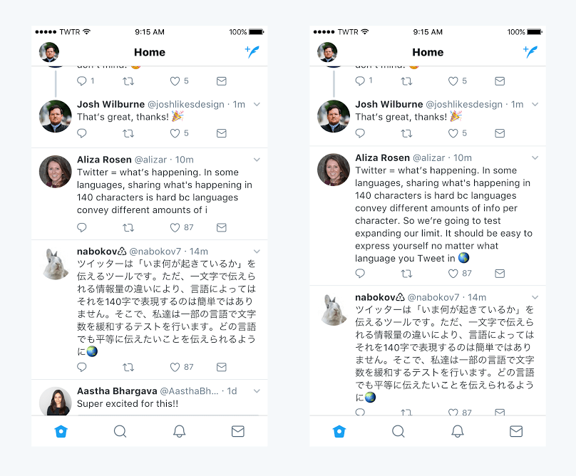 Twitter now lets you tweet in up to 280 Characters 3