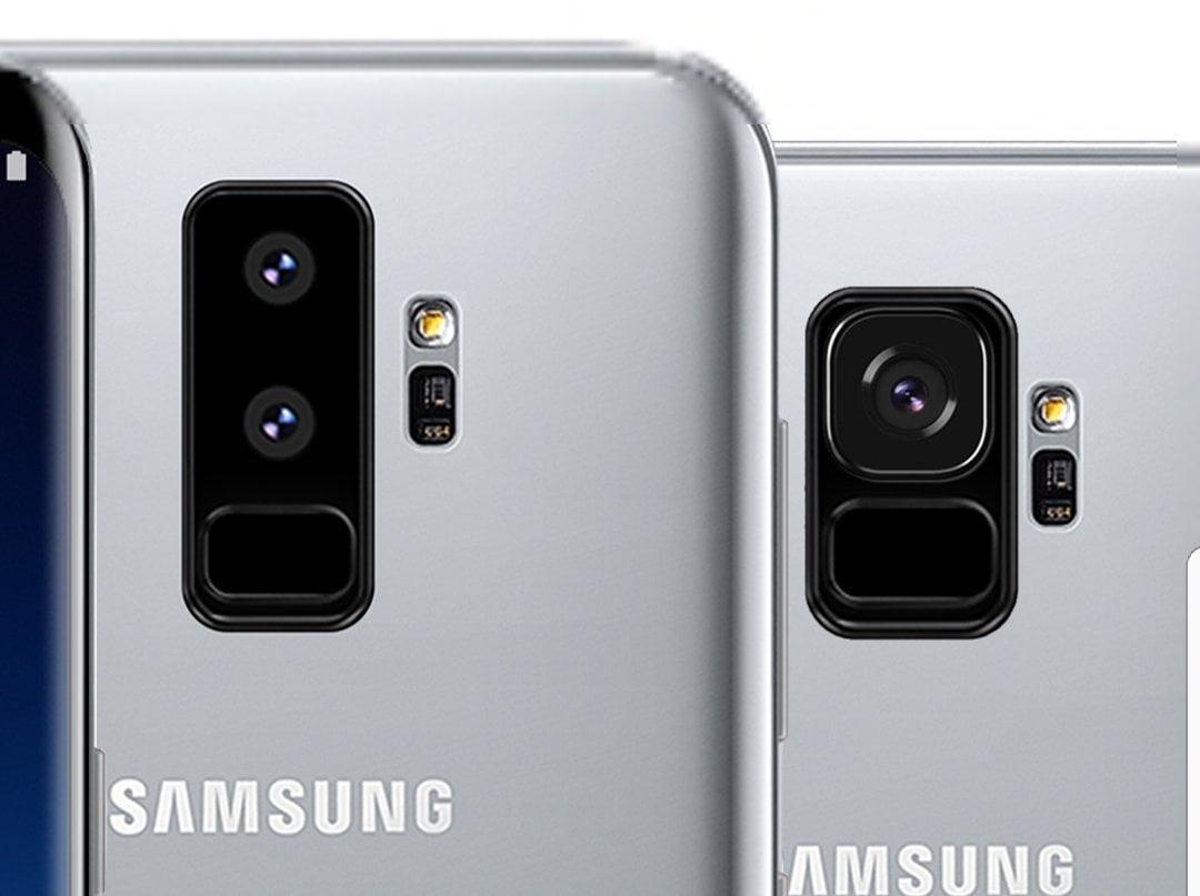 Dual camera samsung s9