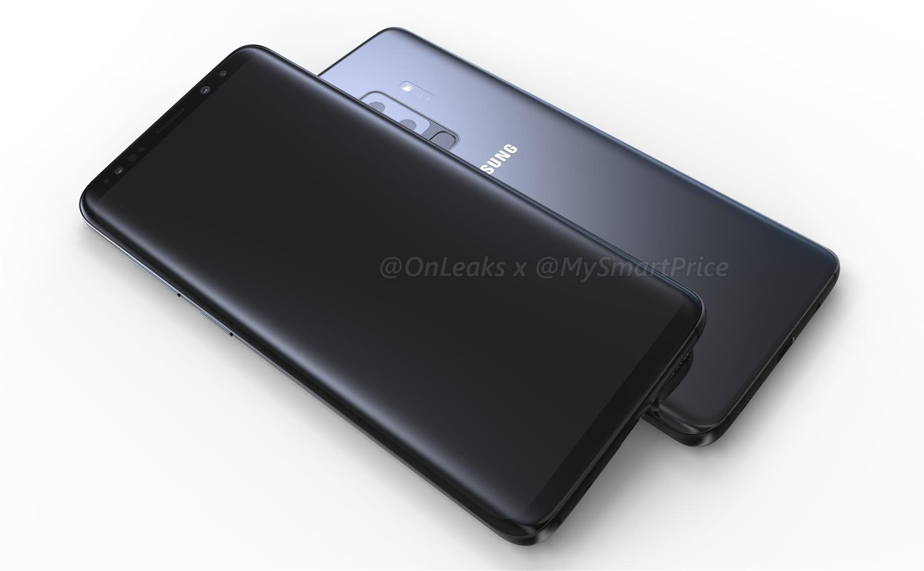 Here are the first 'LEGIT' renders of the Samsung Galaxy S9 & S9+ 1