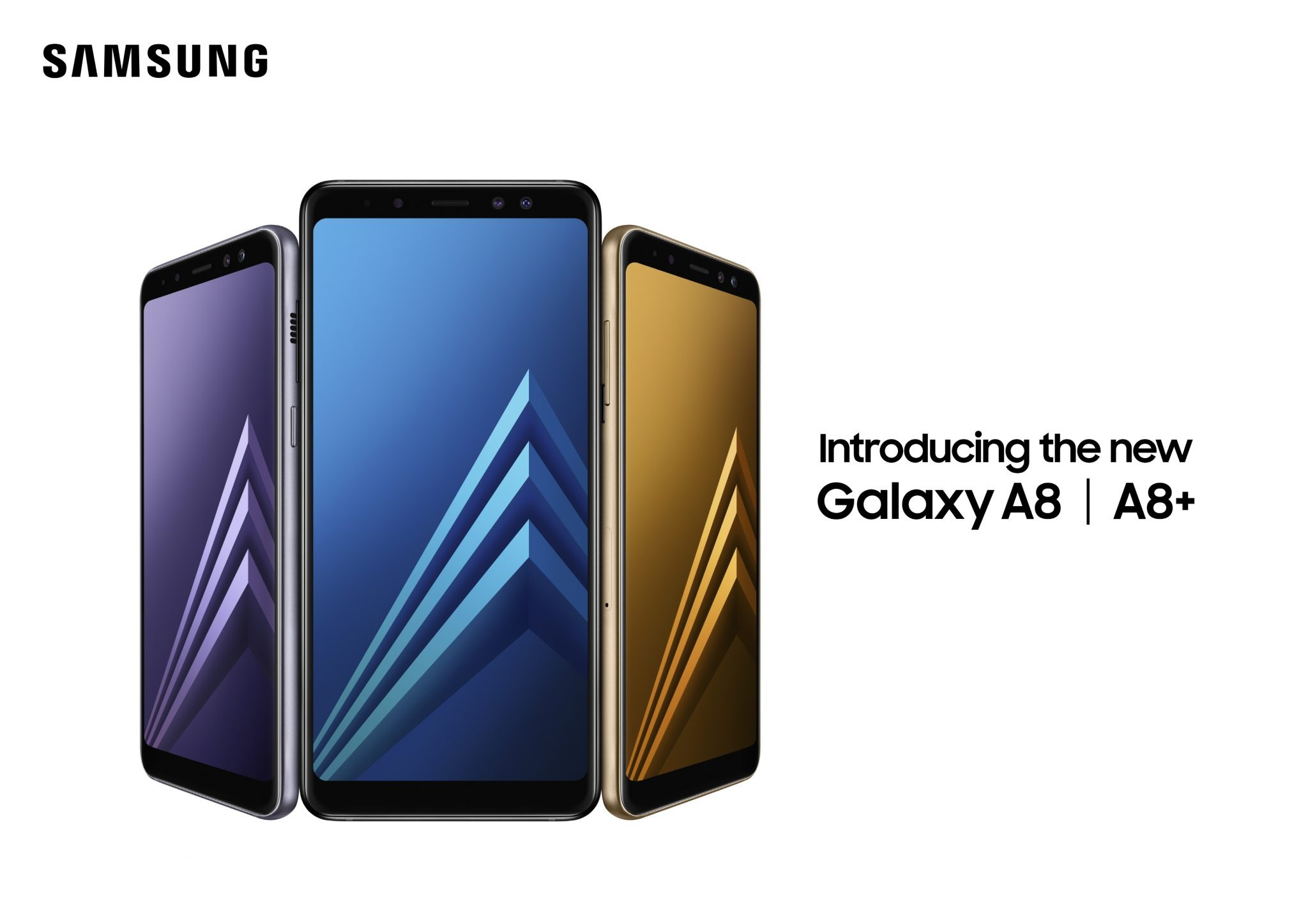 Samsung Galaxy A8 (2018) & A8+(2018) Announced, releasing in January 1