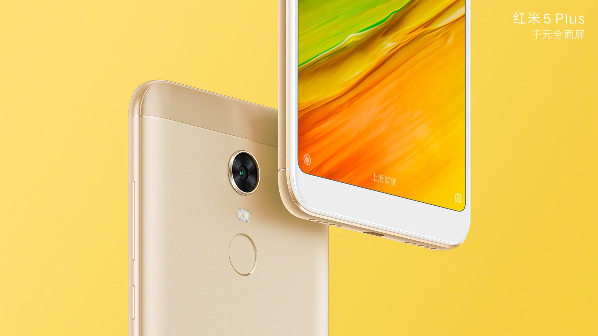 Xiaomi Redmi 5 & Redmi 5 Plus - Check out the official renders 1