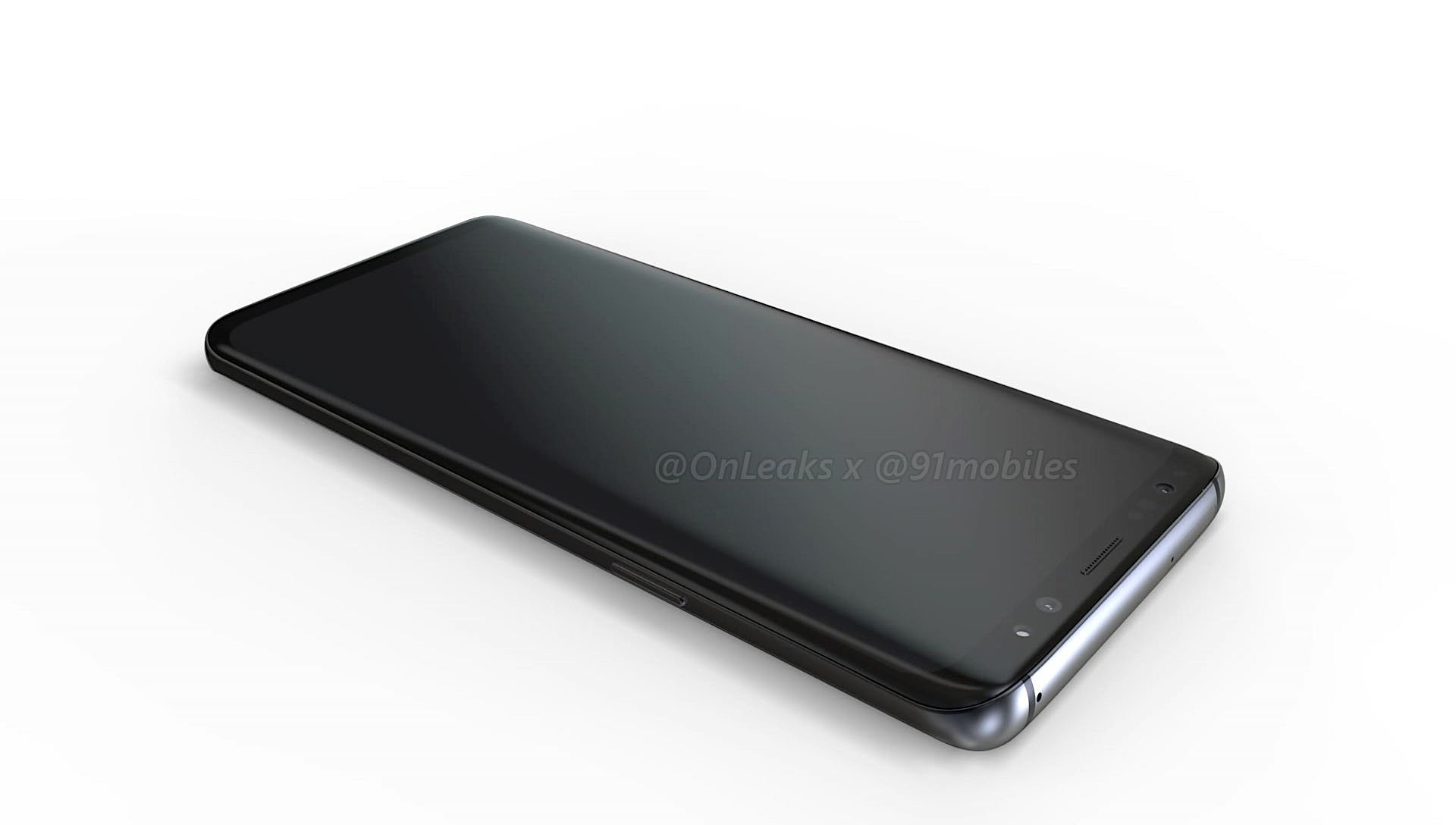 Here are the first 'LEGIT' renders of the Samsung Galaxy S9 & S9+ 3