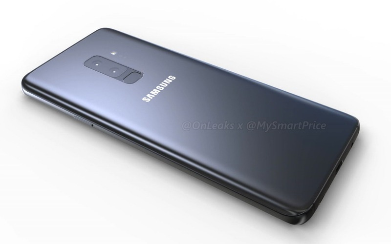 Here are the first 'LEGIT' renders of the Samsung Galaxy S9 & S9+ 4