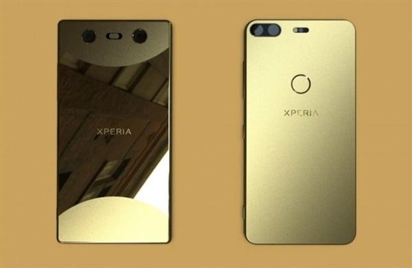 Sony Xperia bezel-less