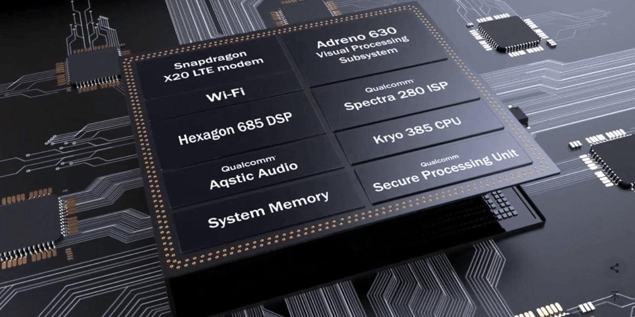 Snapdragon 845 processor