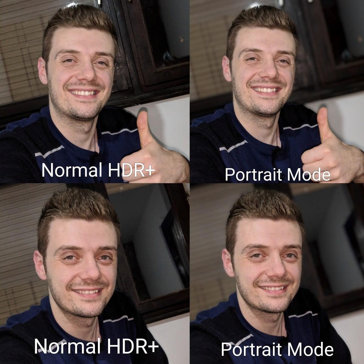 Pixel 2 Portrait Mode apk ported