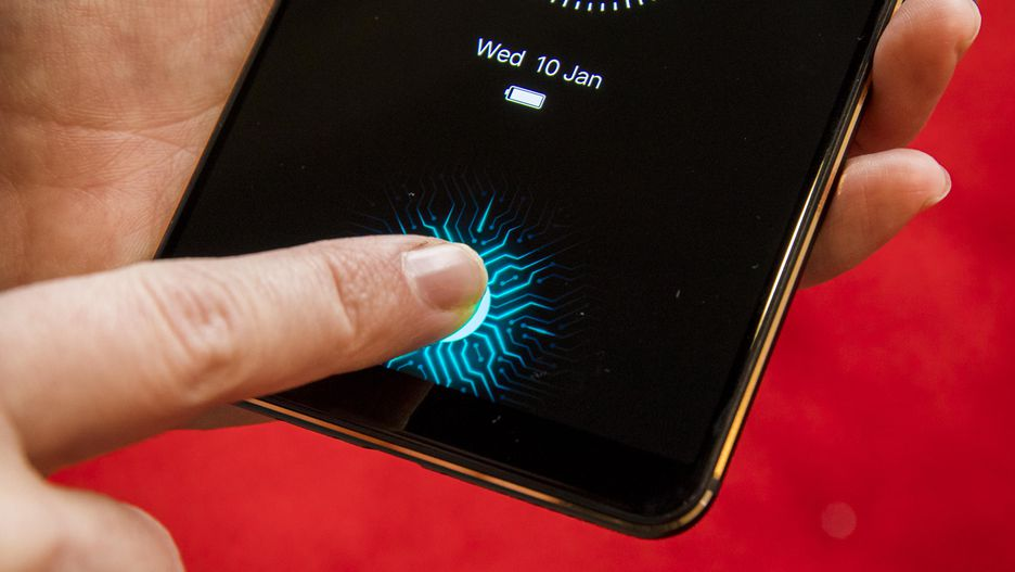 This is the Vivo X20 Plus UD with under display fingerprint scanner 1