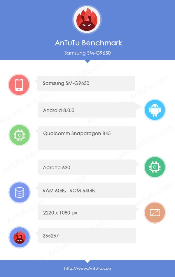 Samsung Galaxy S9+ AnTuTU