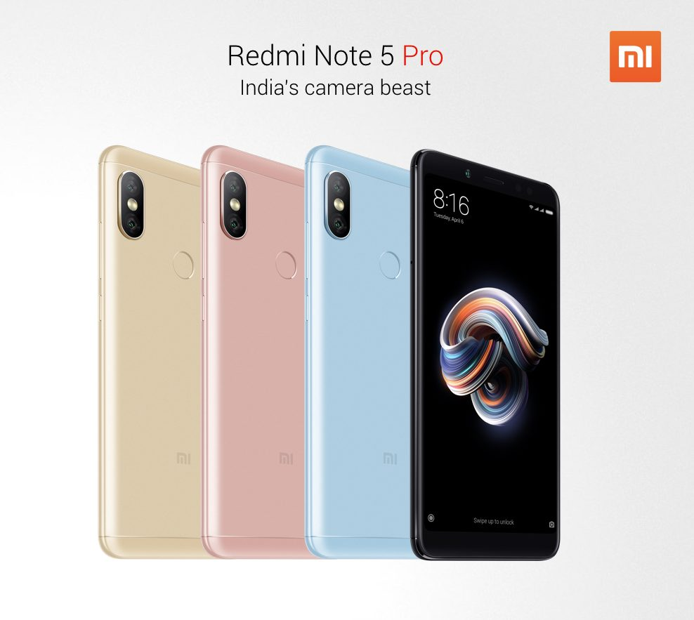 Xiaomi Redmi Note 5 Pro Officially Launched - Here's all you need to know 1