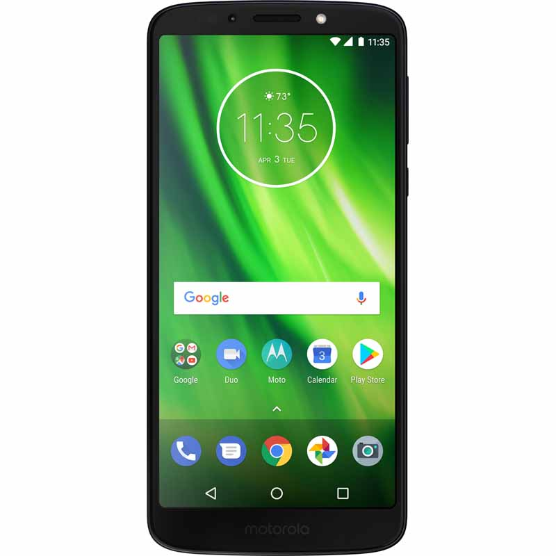 Here's a clear look at the upcoming Moto G6 series