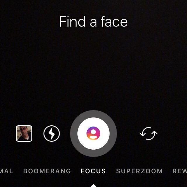 The New 'Focus' feature in Instagram