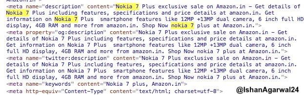 Nokia 7 Plus will be Amazon Exclusive