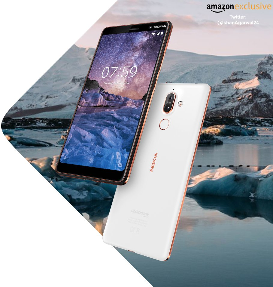 Nokia 7 Plus will be Amazon Exclusive