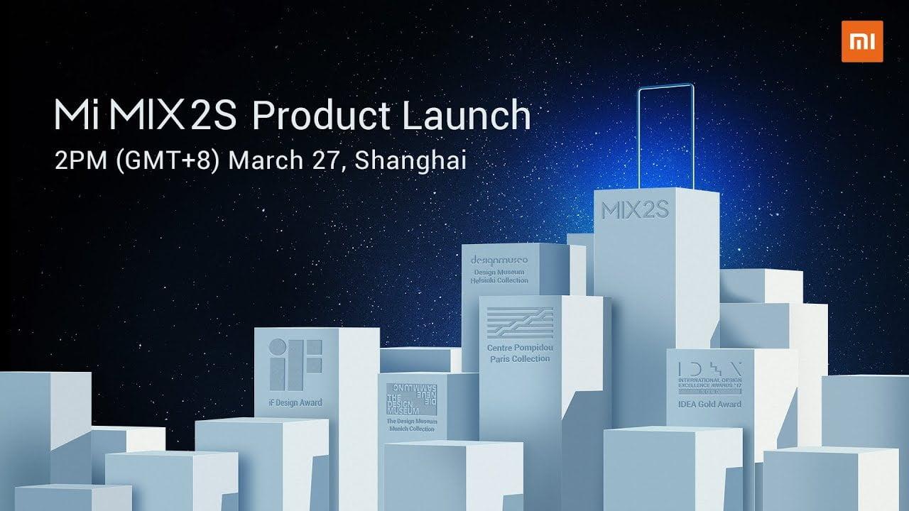 [LIVE] WATCH Xiaomi Mi Mix 2S launch event in Shanghai 1