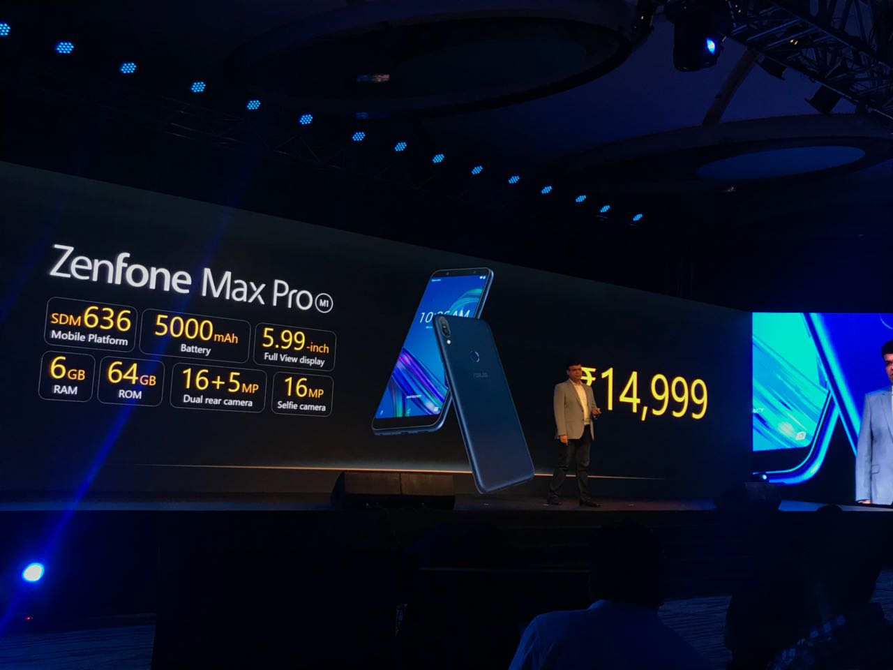 6GB RAM variant of Asus Zenfone Max Pro M1 shows up on Flipkart 1