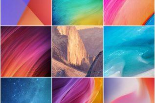 Download MIUI 9.5 stock wallpapers