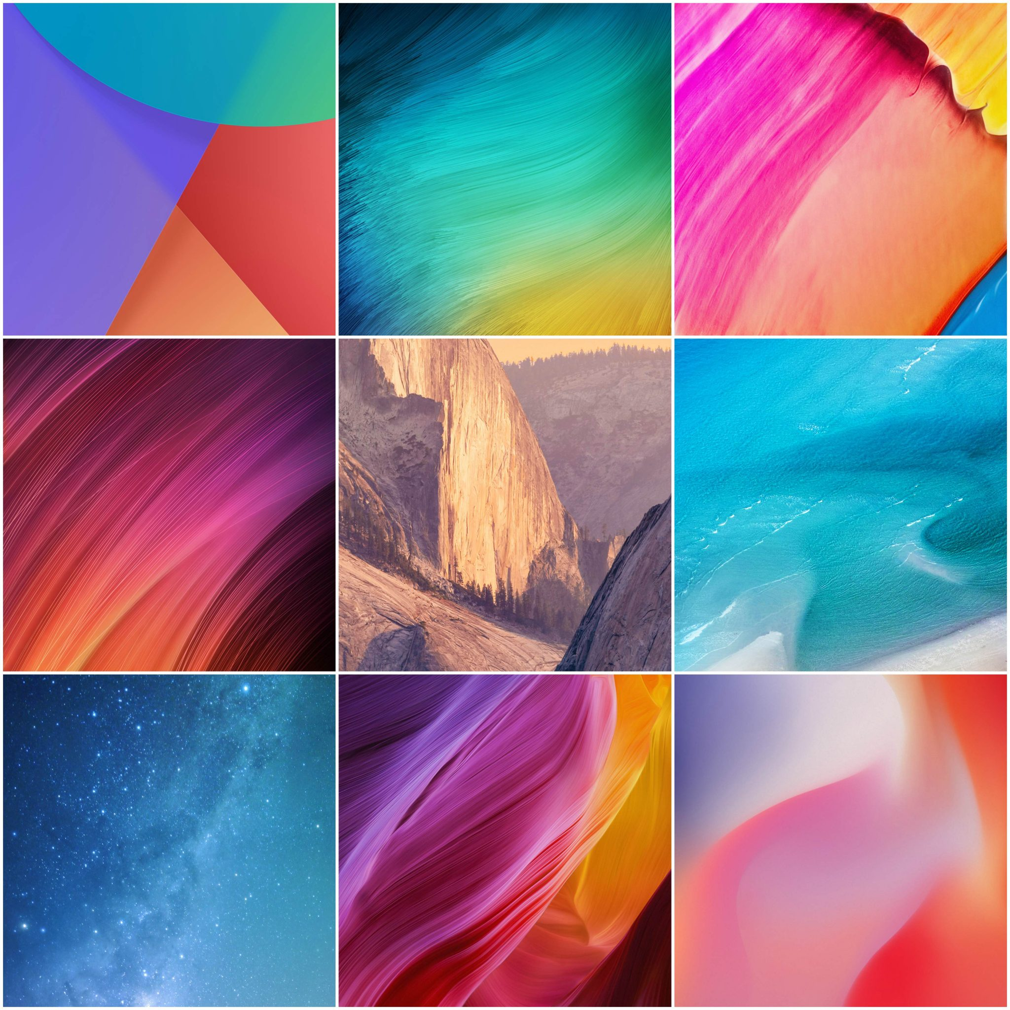 Download MIUI 9.5 stock wallpapers