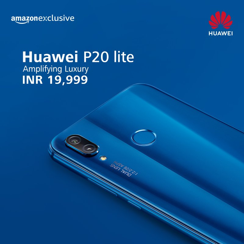 Huawei P20 Pro & P20 Lite launched in India as Amazon Exclusive phones 7