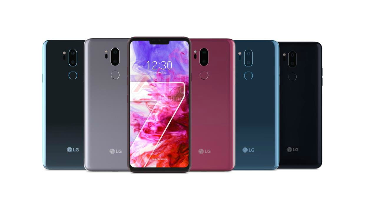 Leaked LG G7 ThinQ render reveals phone's colours, mystery side button